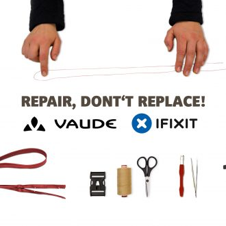 Vaude in partnership con iFixit per riparare i prodotti