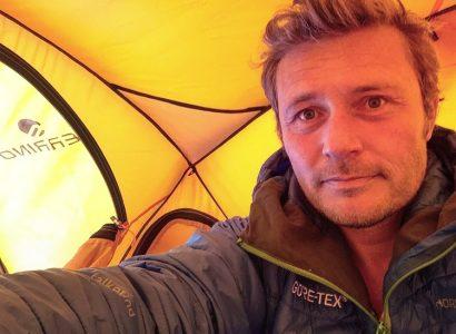 Ferrino al Polo nord con Alban Michon 1